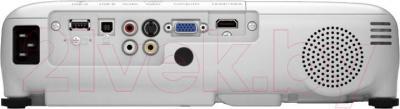 Проектор Epson EB-W28 - вид сзади