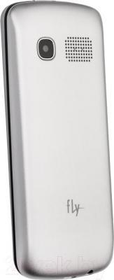 Мобильный телефон Fly TS111 (белый) - вид сзади