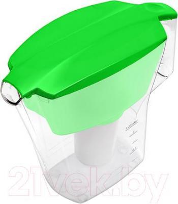Фильтр питьевой воды Аквафор Арт (зеленый) - общий вид