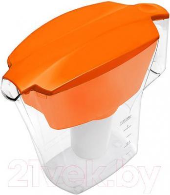 Фильтр питьевой воды Аквафор Арт (оранжевый) - общий вид