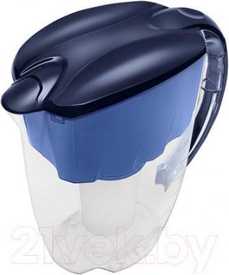 Фильтр питьевой воды Аквафор Гратис (синий кобальт) - общий вид