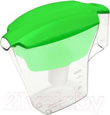 Фильтр питьевой воды Аквафор Лайн (зеленый) - общий вид