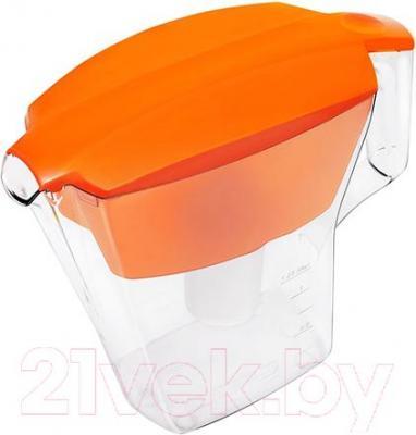 Фильтр питьевой воды Аквафор Лайн (оранжевый) - общий вид