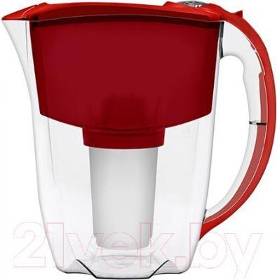 Фильтр питьевой воды Аквафор Престиж (Вишневый) - общий вид