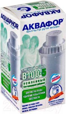 Картридж Аквафор B100-5 (усиленный бактерицидной добавкой) - общий вид
