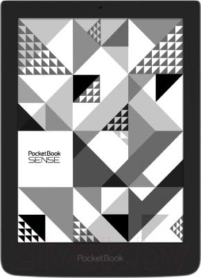 Электронная книга PocketBook Sense 630 (серый, с чехлом) - общий вид