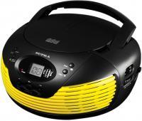 Магнитола Supra BB-CD120U (черно-желтый) -