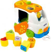 Развивающая игрушка Weina Музыкальный автобус (2071) -
