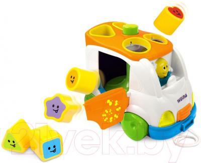 Развивающая игрушка Weina Музыкальный автобус (2071) - общий вид