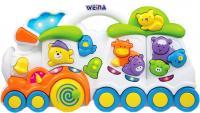 Развивающая игрушка Weina Поезд со зверятами (2106) -