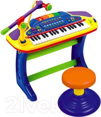 """Музыкальная игрушка Weina Пианино """"Мигающие огни"""" (2077) - общий вид"""