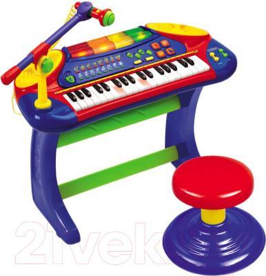 """Музыкальная игрушка Weina Пианино """"Музыкальные огни"""" (2079) - общий вид"""