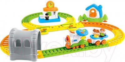Железная дорога детская Weina Музыкальный паровозик (2115) - общий вид