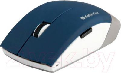 Мышь Defender Jasper MS-475 Nano / 52476 (синий) - общий вид