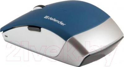 Мышь Defender Jasper MS-475 Nano / 52476 (синий) - вид сзади