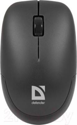Мышь Defender Datum MM-015 Nano / 52015 (Black) - общий вид