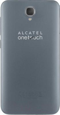 Смартфон Alcatel One Touch Idol 2 6037K (черный/сланец) - вид сзади