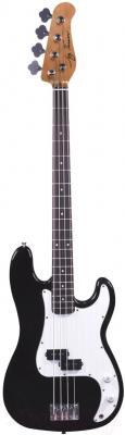 Бас-гитара Jay Turser JTB-400C-BK - общий вид