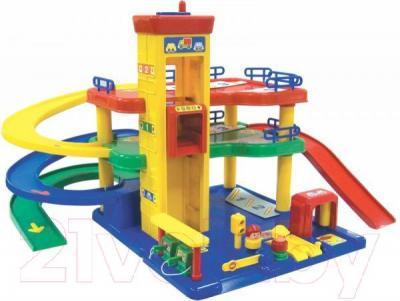 Детский паркинг RedBox Паркинг и сервисная станция 25602 - общий вид