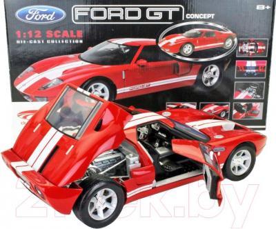 Масштабная модель автомобиля Motormax Ford GT Concept (73001) - с открытыми дверьми