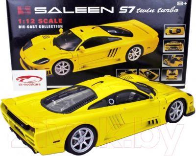 Масштабная модель автомобиля Motormax Saleen S7 Twin Turbo (73005) - вид сбоку