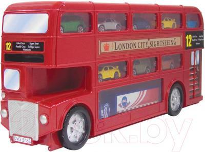Игровой набор Motormax Городской автобус 78154 - в сложенном виде
