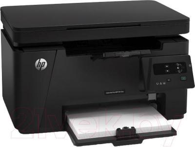 МФУ HP LaserJet Pro M125ra (CZ177A) - общий вид