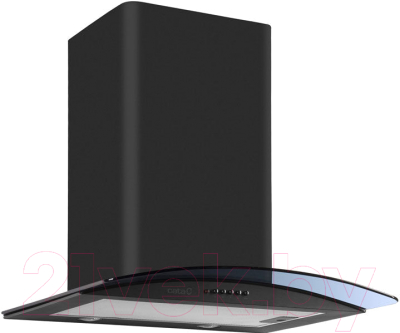 Вытяжка купольная Cata C Glass H Black 600