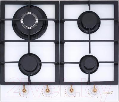 Газовая варочная панель Cata RCI 631 (белый) - общий вид