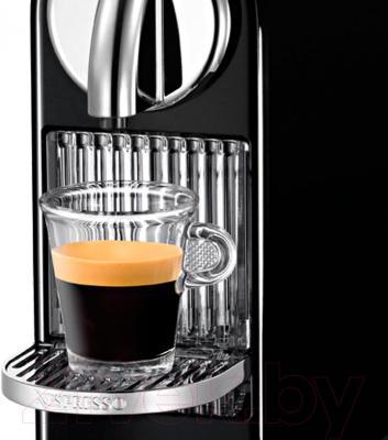 Капсульная кофеварка DeLonghi Citiz & Milk EN 266.BAE (Black) - общий вид