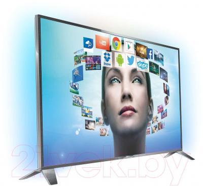 Телевизор Philips 55PUS8809/60 - вполоборота