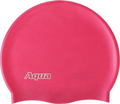 Шапочка для плавания Aqua 352-07309 (бордовый) - общий вид