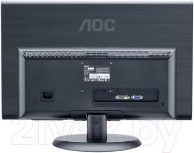 Монитор AOC E2250SD - вид сзади