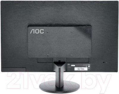 Монитор AOC E2770SHE - вид сзади