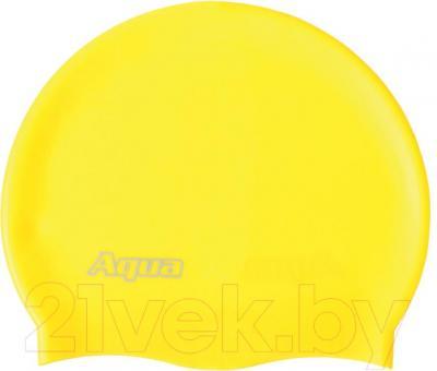 Шапочка для плавания Aqua 352-07312 (желтый) - общий вид