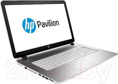 Ноутбук HP Pavilion 17-f107nr (K6X96EA) - вполоборота