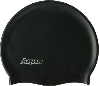 Шапочка для плавания Aqua 352-07306 (черный) - общий вид