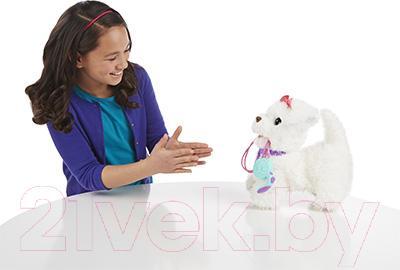 Интерактивная игрушка Hasbro FurReal Friends Щенок Гого (A7274) - во время игры
