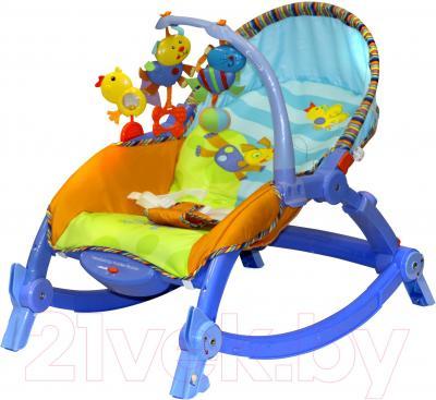 Детский шезлонг Lorelli Сhill Out (Blue) - общий вид