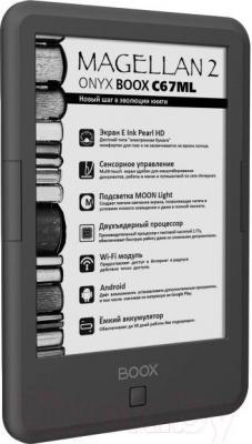 Электронная книга Onyx BOOX С67ML Magellan 2 (Gray) - вполоборота