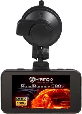 Автомобильный видеорегистратор Prestigio RoadRunner 560 - дисплей