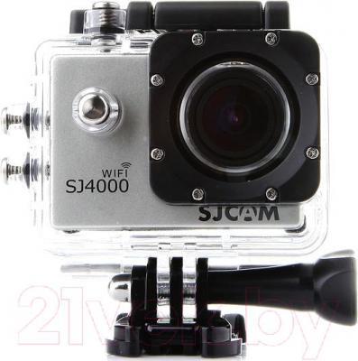 Экшн-камера SJCAM SJ4000 (золото) - в защитном боксе