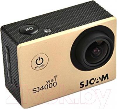 Экшн-камера SJCAM SJ4000 (золото) - общий вид