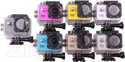 Экшн-камера SJCAM SJ4000 (серебристый)