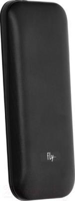 Мобильный телефон Fly DS104D (черный) - вид сзади