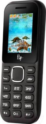 Мобильный телефон Fly DS104D (черный) - общий вид