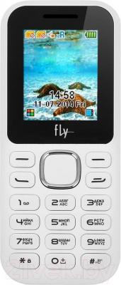 Мобильный телефон Fly DS104D (белый) - общий вид
