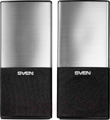 Мультимедиа акустика Sven 249 (черный) - вид спереди