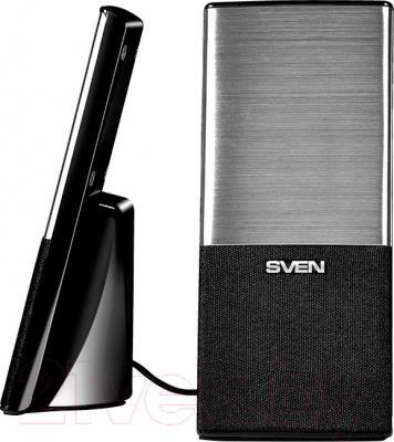 Мультимедиа акустика Sven 249 (черный) - общий вид