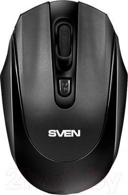 Мышь Sven RX-315 (черный) - вид сверху